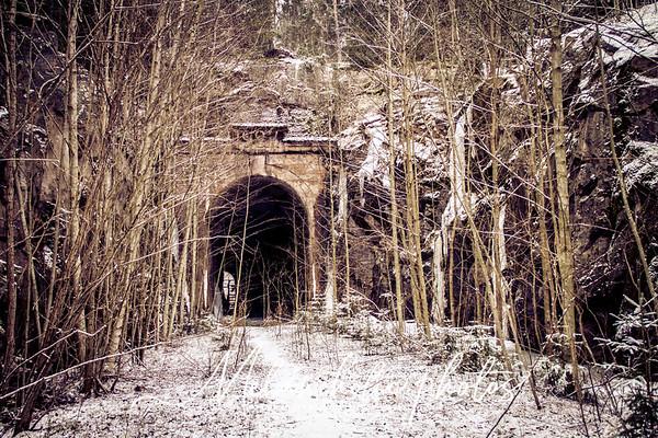 Halikon vanha rautatietunneli