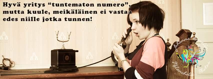 Puhelinkammo. Onko sellaista?