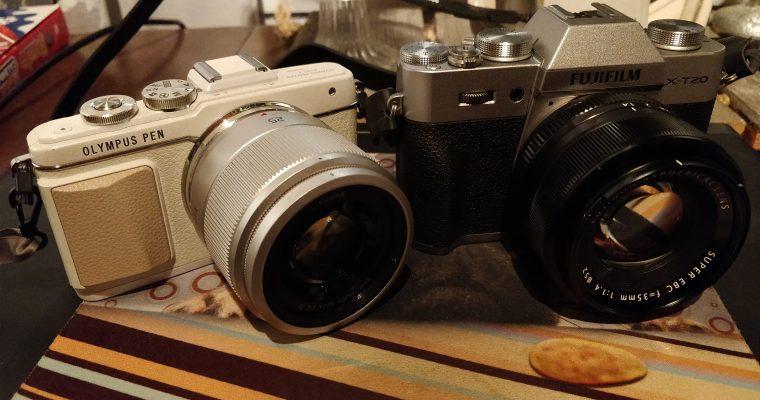 Fujifilm X-T20 vs. Olympus E-PL7