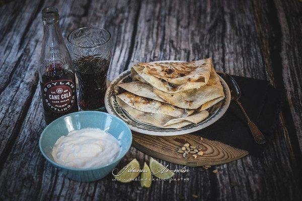 Juustoiset naudanliha Quesadillat – Nopea meksikolaisruoka (n. 30min.)