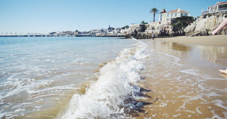 Portugal päivä 2, junalla Cascaisiin ja päivä pyöräillen Cascain ja Estorilin rannoilla