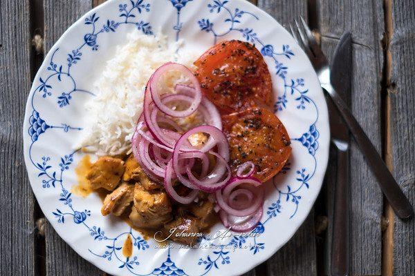 Taas yksi nopea kana-riisi ohje (30min) ja uusi lemppari tuoksukynttilä; Mansikka