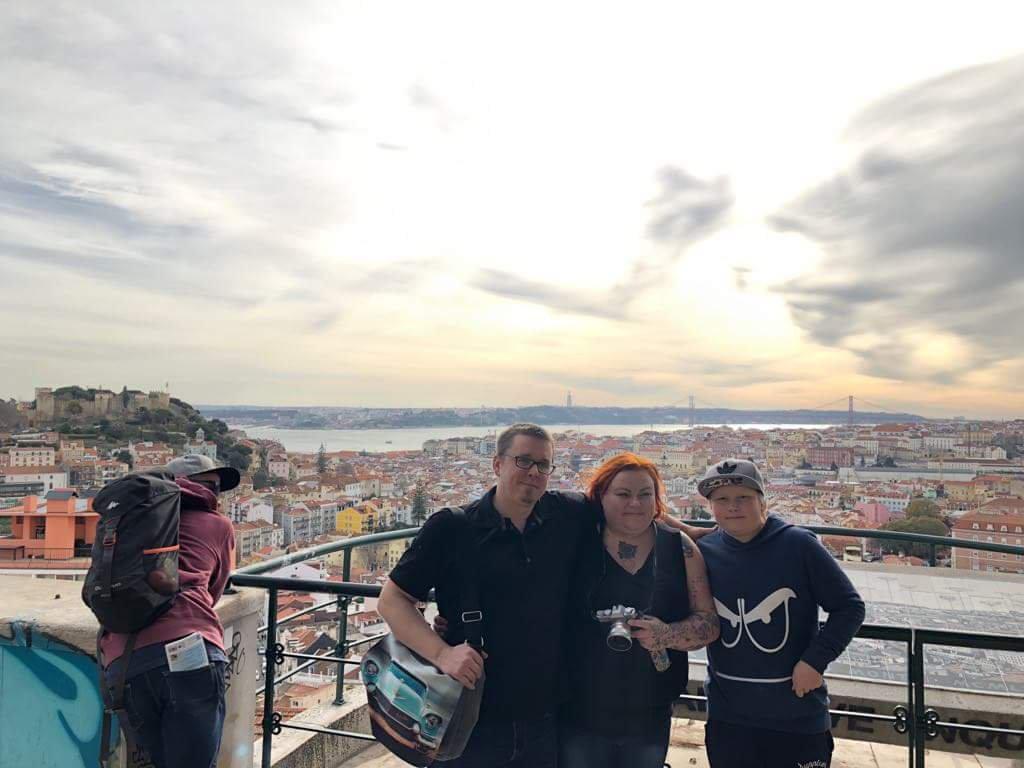 Lissabon päivä 1