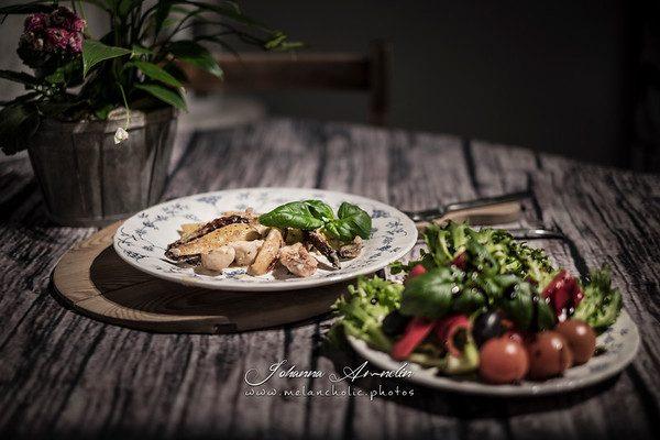 Aurajuusto-broileri-perunavuoka