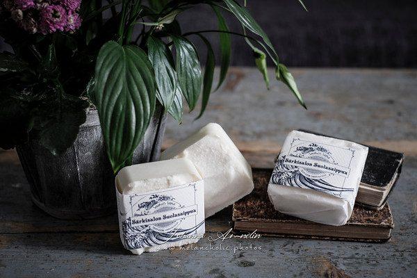 Auta saippuantekijää dilemmassa ja voita itsellesi 3 kotimaista käsintehtyä suolasaippuaa joiden arvo on yhteensä yli 35€!