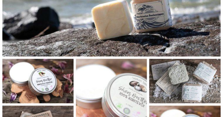 Lue kauneudenhoitoalan ammattilaisen tarkemmat analyysit Saaren Taika saippuoista ja voiteista