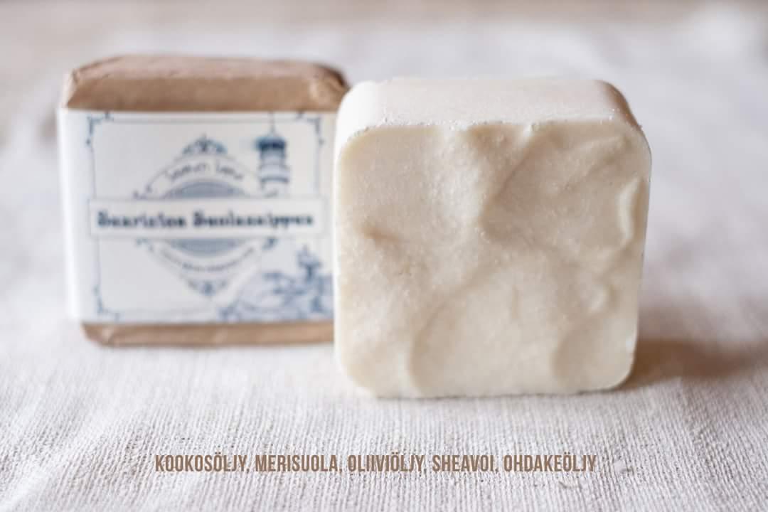 Saaren Taian luonnollisten saippuoiden ainesosat on pidetty vähäisinä, jotta ne sopivat myös niille kaikkein herkimmille.