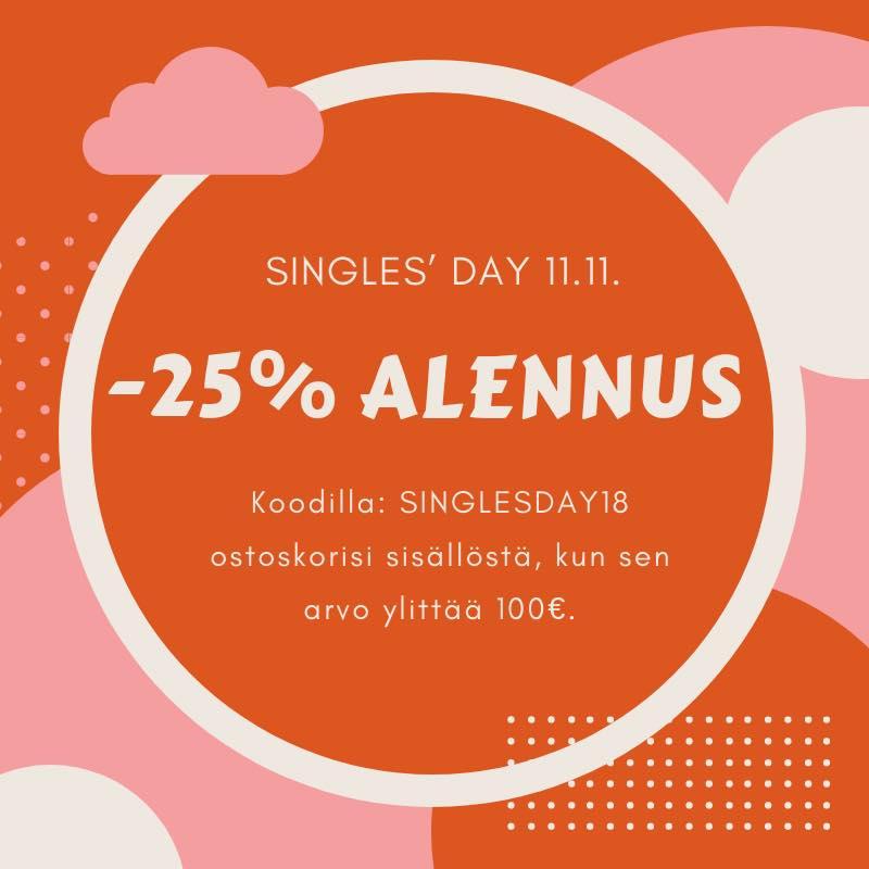 Tyttäreni otti haltuun nopeasti SinglesDay alen! -25% kaikista Saaren Taioista ja Metsän Lumoista
