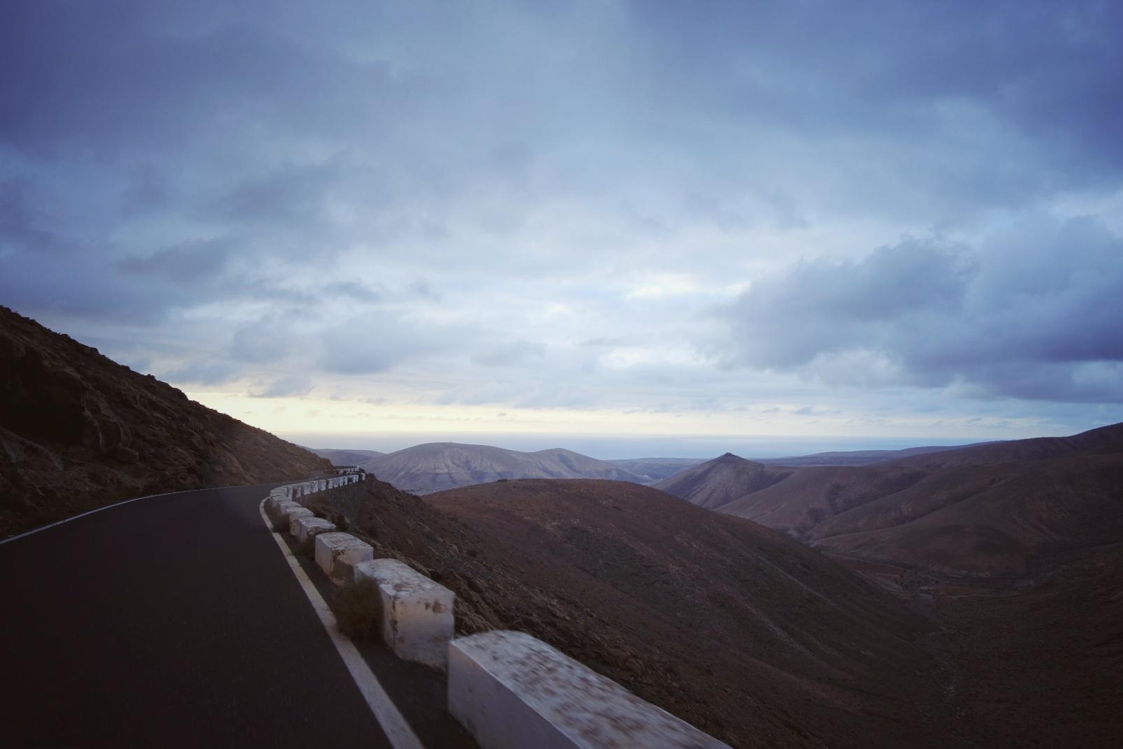 Talviloma Kanariansaarilla – Päivä 4, autolla ympäri Fuerteventuraa, dyynit, sukeltelua kalojen kanssa ja vuoristoa