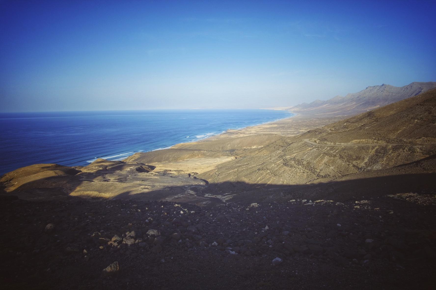 Talviloma Kanarialla – Päivä 6, chillailua Fuerteventuran rannoilla ja laivamatka Las Palmasiin ja delfiinit matkalla