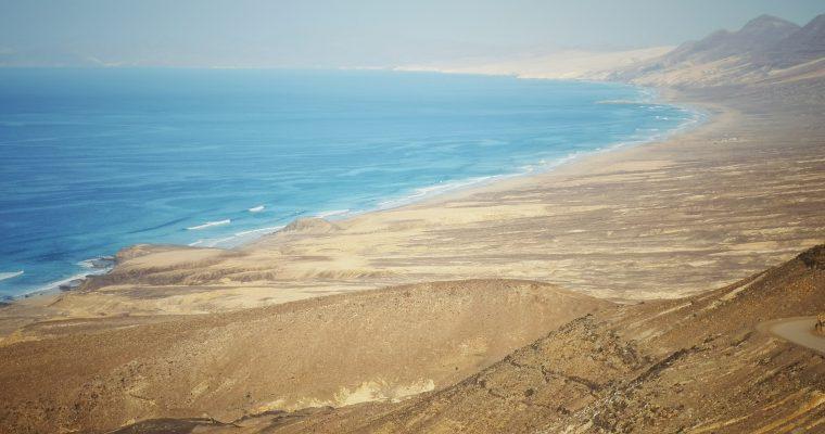 Talviloma Kanariansaarilla – Päivä 5, autolla Fuerteventurassa, hurja Cofeten ranta!