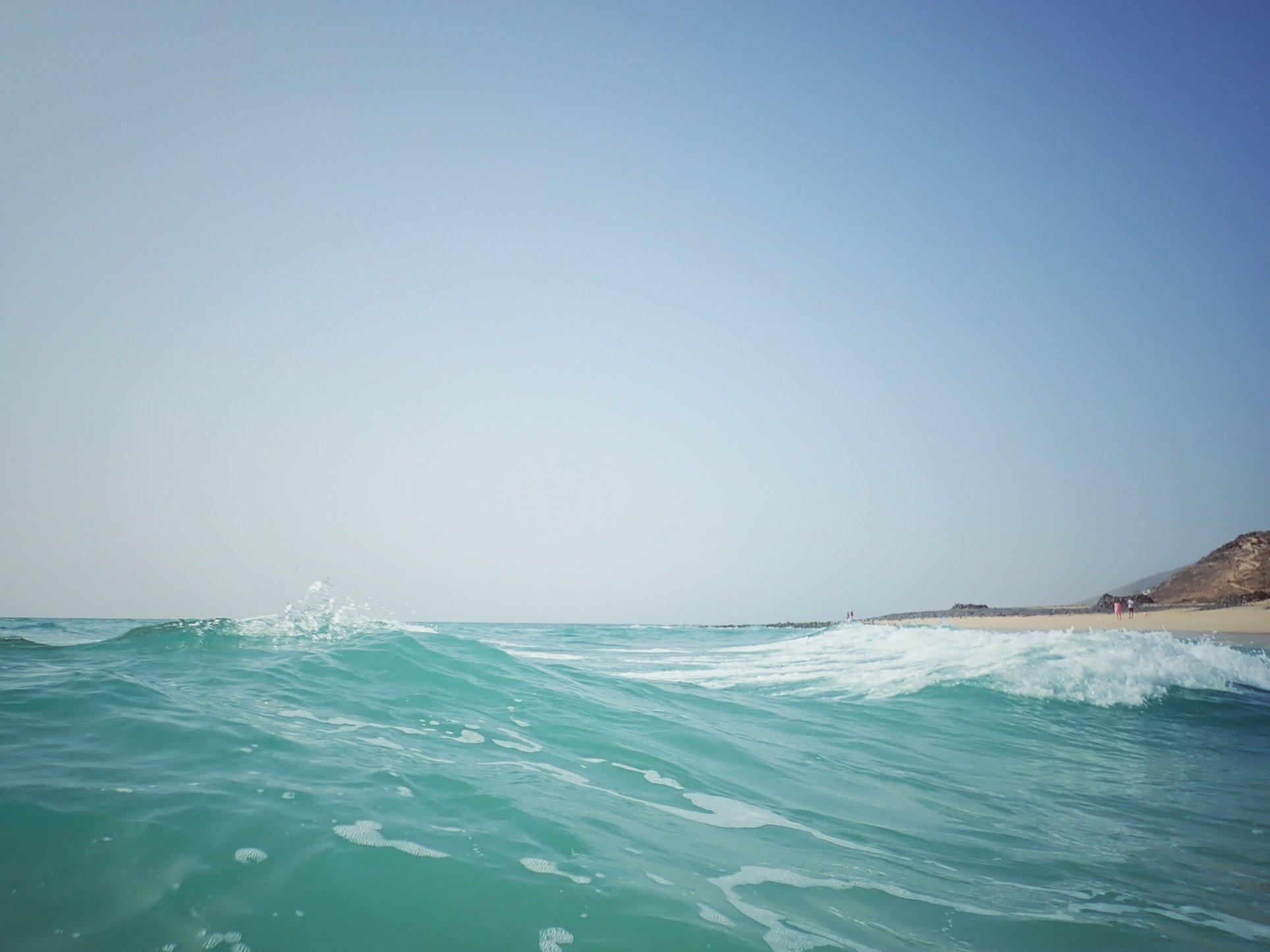 Talviloma Kanarialla - Päivä 6, chillailua Fuerteventuran rannoilla ja laivamatka Las Palmasiin ja delfiinit matkalla