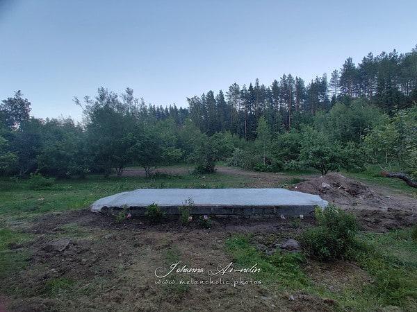 Puutarhan muodonmuutos ja ulkoporeallas projektia