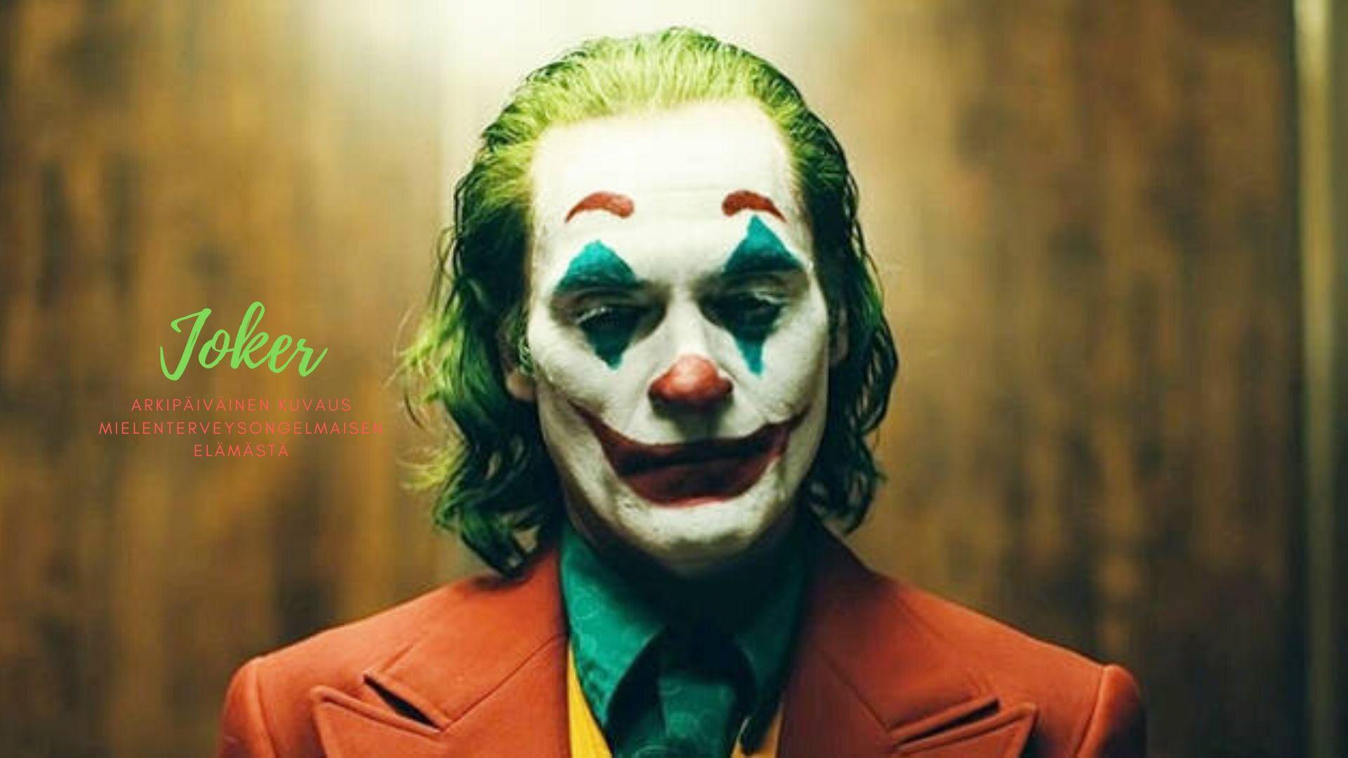Joker elokuva – Tavanomainen mielenterveysongelmaisen päiväkirja
